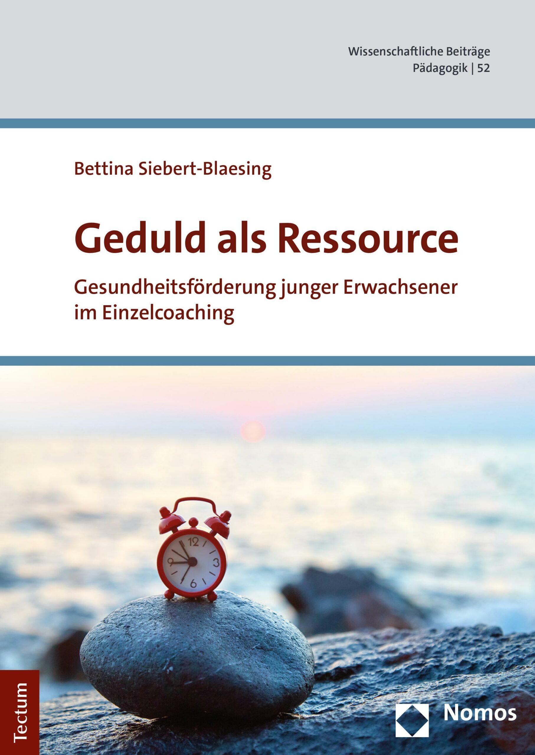 Buchcover Geduld als Ressource